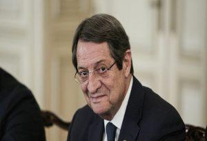 Κυπριακό: Επανέναρξη διαλόγου θα ζητήσει ο Αναστασιάδης από τον Τατάρ