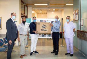 Νοσοκομείο Παπαγεωργίου: Δωρεά μόνιτορ στη ΜΕΘ από την ΤΙΤΑΝ