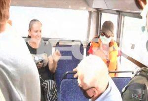 Ήρθαν στα χέρια σε αστικό για μη χρήση μάσκας (VIDEO)