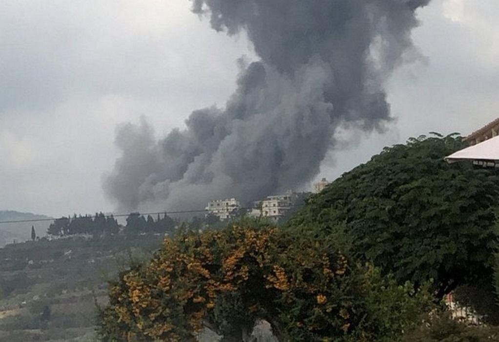 Έκρηξη σε αποθήκη όπλων της Χεζμπολάχ στον νότιο Λίβανο (VIDEO)