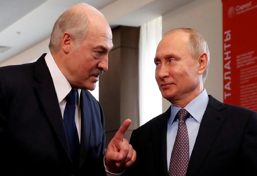 Αίτημα Λουκασένκο σε Πούτιν για νέα όπλα