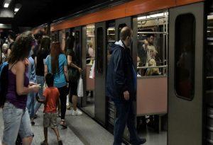 ΣΤΑΣΥ: Μεμονωμένες οι εικόνες μεγάλου συνωστισμού στo Μετρό