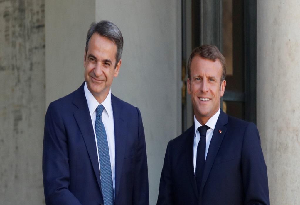 Μητσοτάκης – Μακρόν: Προς ανακοίνωση αμυντικής συμφωνίας για προμήθεια φρεγατών