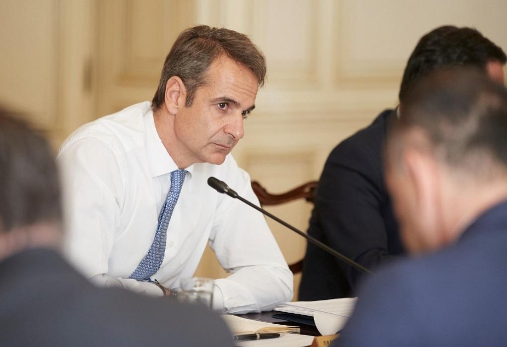 Καρδίτσα: Ξεκίνησε η σύσκεψη στο δημαρχείο υπό τον πρωθυπουργό