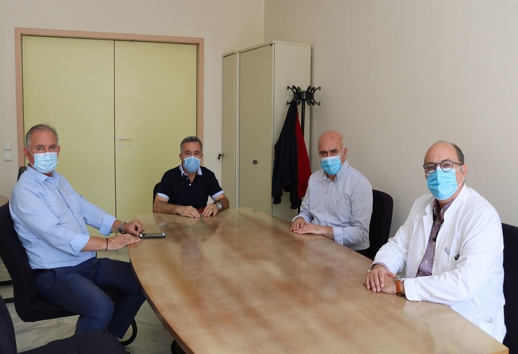 Εξοπλίζεται για τη μάχη ενάντια στον κορωνοϊό το νοσοκομείο Αλεξανδρούπολης