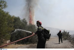 Υπό έλεγχο η πυρκαγιά στον Υμηττό Αττικής