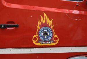 Φωτιά σε τουριστικό λεωφορείο στο κέντρο της Θεσ/νίκης