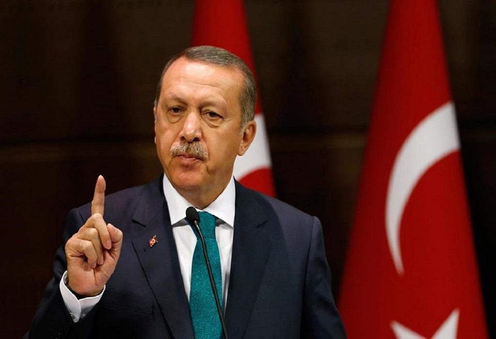 Ερντογάν: Ζητά αποστρατιωτικοποίηση των νησιών του Αιγαίου