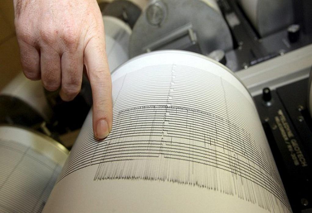 Ισχυρή σεισμική δόνηση ανοιχτά της Χαλκιδικής