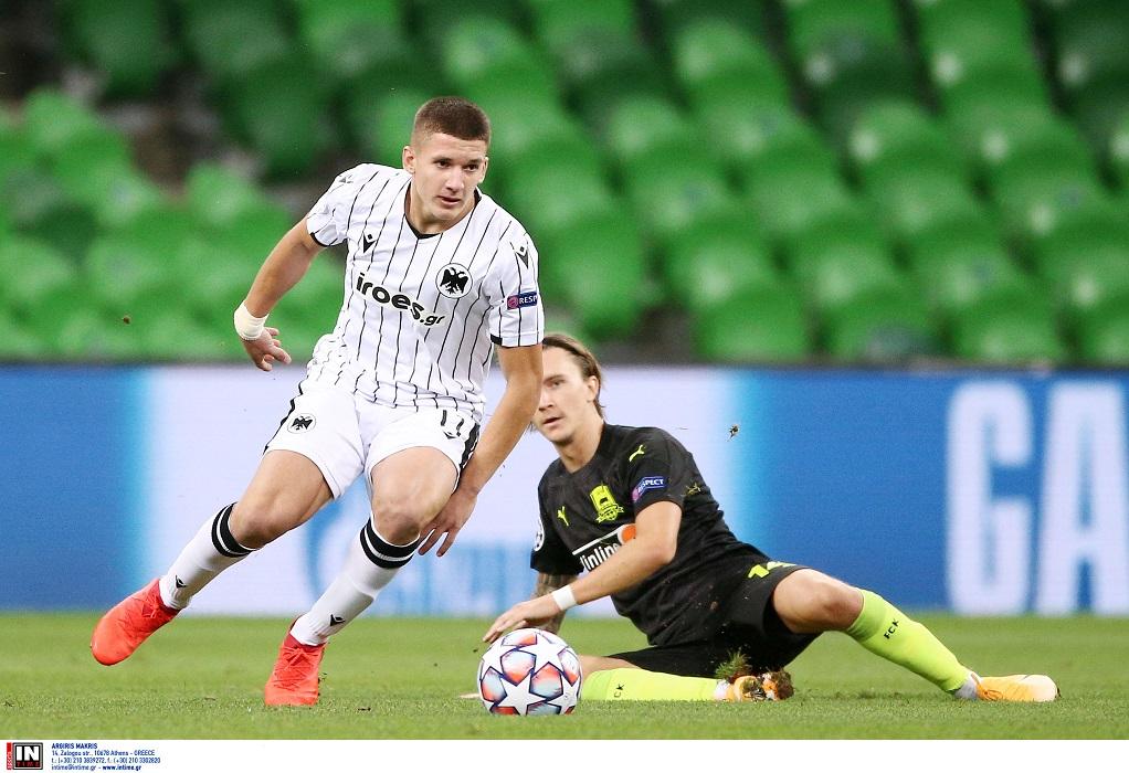 Ελπίζει σε πρόκριση ο ΠΑΟΚ παρά την ήττα (2-1) από την Κράσνονταρ