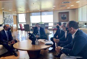 Η καινοτομία στο επίκεντρο συνάντησης Ζέρβα – Σταϊκούρα