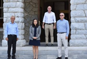 Επίσκεψη της Γενικής Προξένου ΗΠΑ στο Κολλέγιο Ανατόλια
