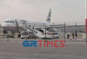 Στη Θεσ/νίκη η τρίτη πτήση με προσφυγόπουλα από τη Μόρια (ΦΩΤΟ- VIDEO)