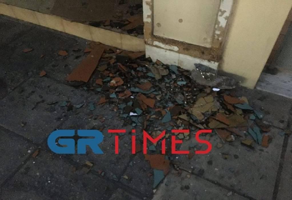 Θεσ/νίκη: Σύλληψη άνδρα που έσπαζε τζάμια (ΦΩΤΟ-VIDEO)