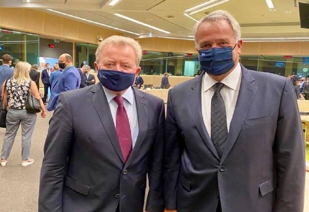 Συνάντηση Μ. Βορίδη με τον Ευρωπαίο Επίτροπο Γεωργίας