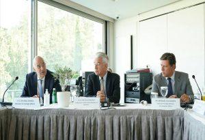 Συνάντηση πρέσβεων ΕΕ με Ν. Δένδια και Μ. Βαρβιτσιώτη