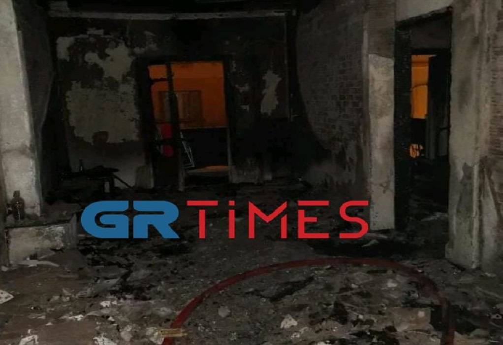 Οδός Σωκράτους: Ό,τι απέμεινε από τη φωτιά (ΦΩΤΟ)