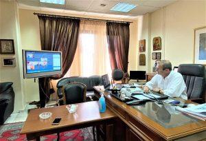 Το πρόγραμμα «Γέφυρα» στο επίκεντρο τηλεδιάσκεψης του Επιμελητηρίου Πιερίας