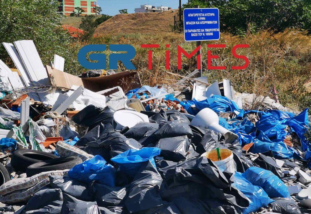 Εύοσμος: Τι απαντά ο δήμος για την ανεξέλεγκτη χωματερή