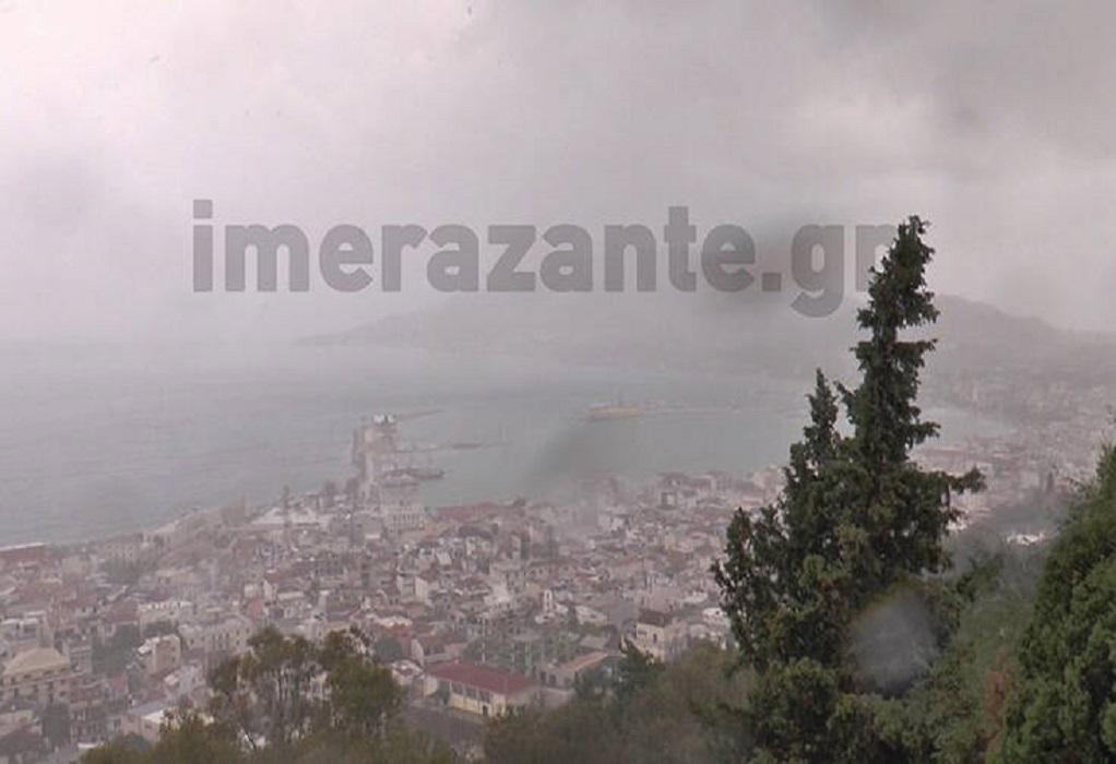 Κακοκαιρία «Ιανός» : Έφτασε στο Ιόνιο – Δείτε LIVE την εξέλιξη του κυκλώνα