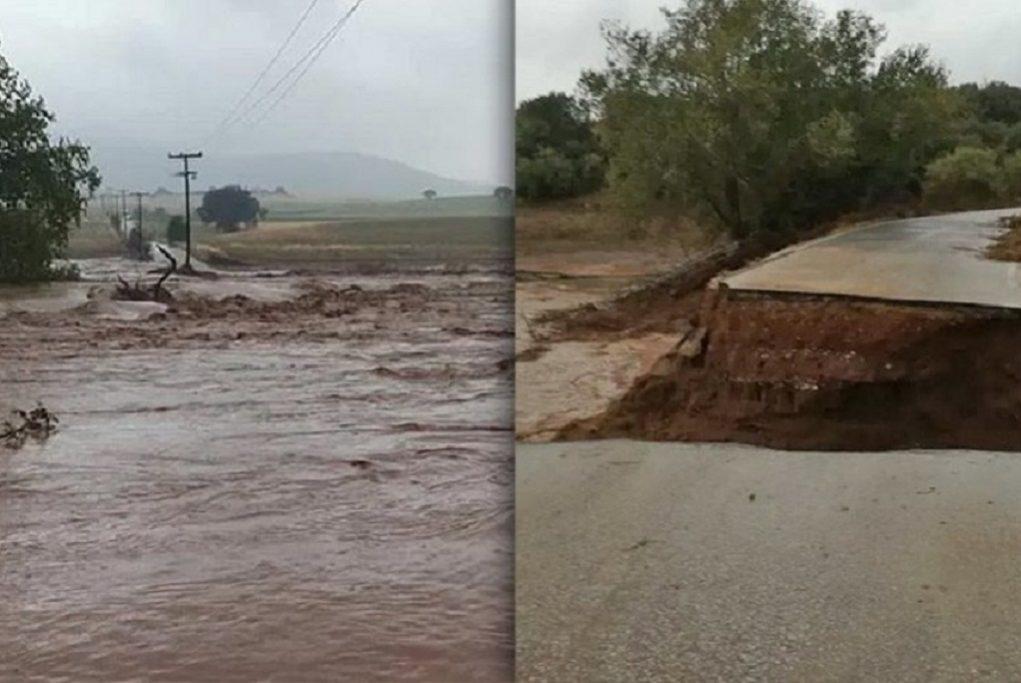 «Ιανός»: Μεγάλες καταστροφές στη Θεσσαλία (ΦΩΤΟ-VIDEO)
