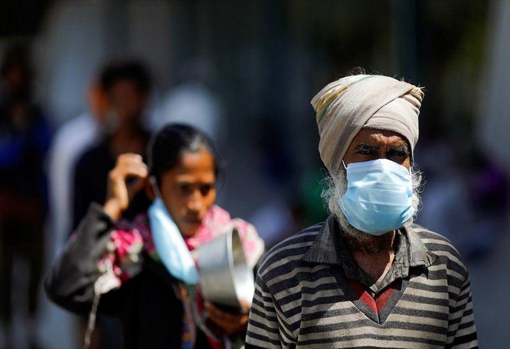 Ινδία-Covid-19: Πάνω από 55.700 κρούσματα σε 24 ώρες