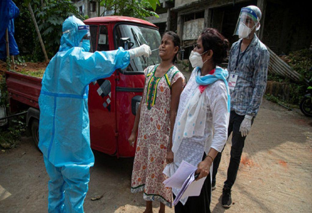 Ινδία: Ξεπέρασαν ξανά τα 18.700 τα κρούσματα κορωνοϊού