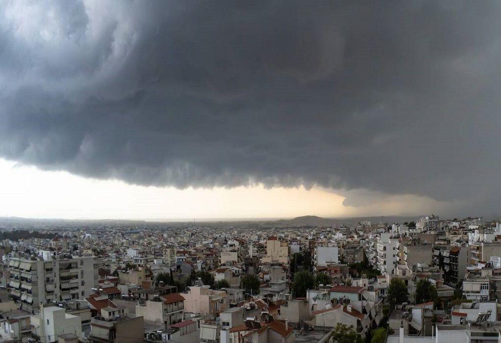 Έκτακτο Δελτίο Επιδείνωσης Καιρού με καταιγίδες και ισχυρούς ανέμους