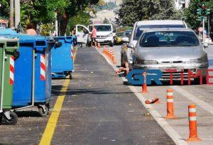 Αυτοψία GRTimes.gr στον ποδηλατόδρομο της Κ. Καραμανλή – Προβλήματα και αντιδράσεις (ΦΩΤΟ+VIDEO)