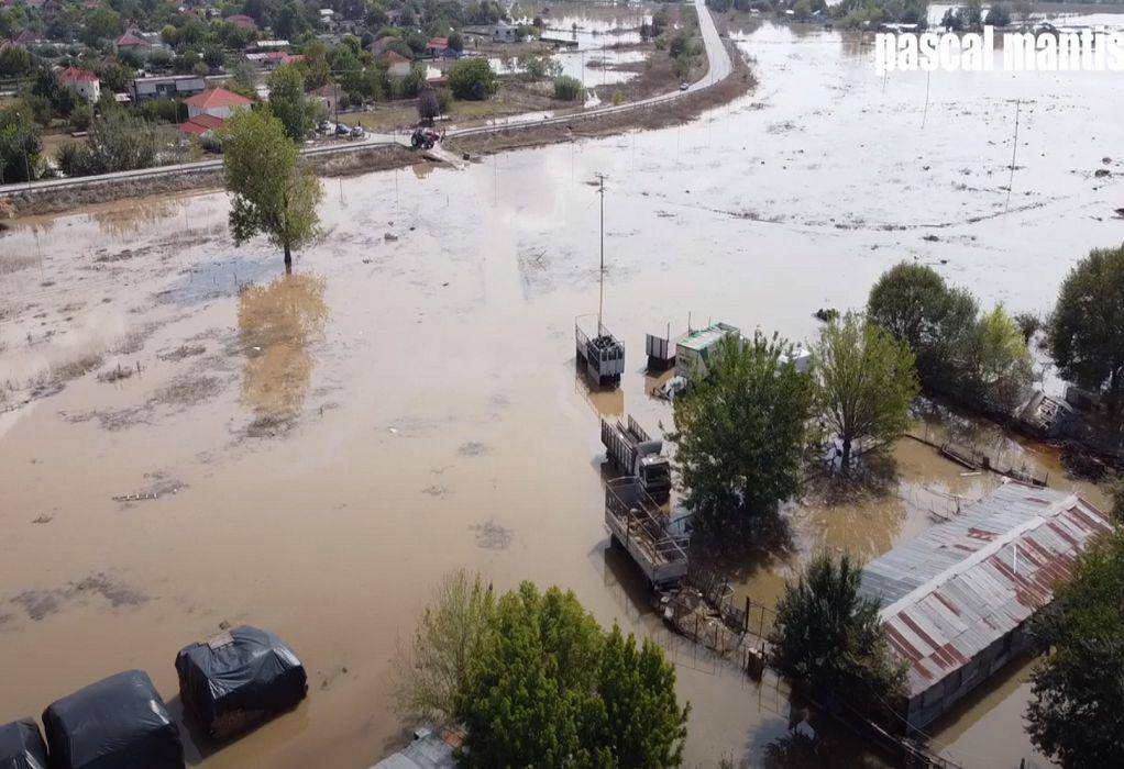 Κακοκαιρία «Ιανός»: Βιβλική καταστροφή στην Καρδίτσα (VIDEO)
