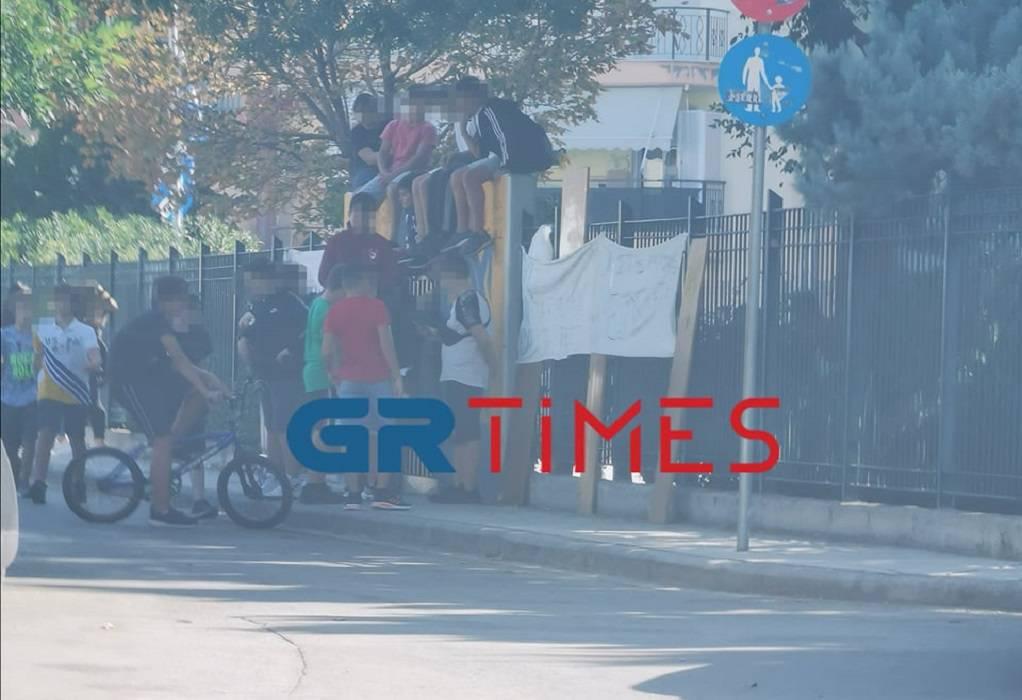 Όχι μάσκες στα σχολεία: Νέες καταλήψεις στη Θεσσαλονίκη (ΦΩΤΟ)