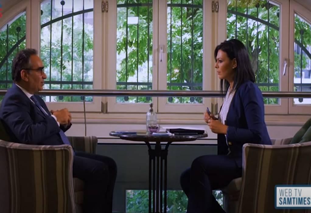 Κοντοζαμάνης: Πήραμε σωστές αποφάσεις εγκαίρως (VIDEO)