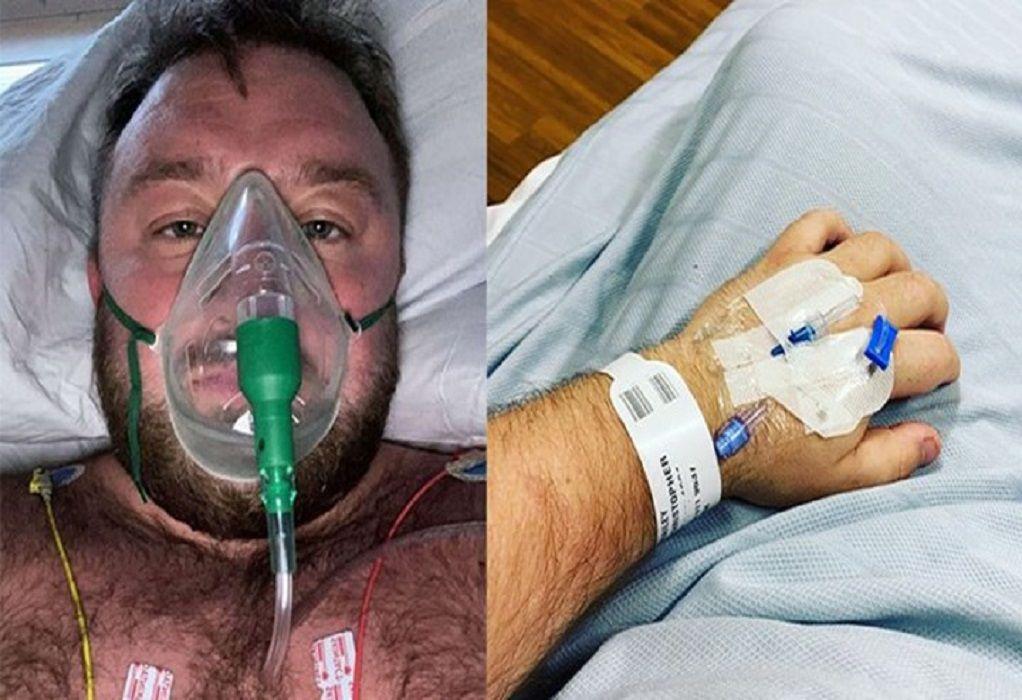 Κορωνοϊός: Συγκλονίζει αρνητής του ιού μέσα από την ΜΕΘ (VIDEO)