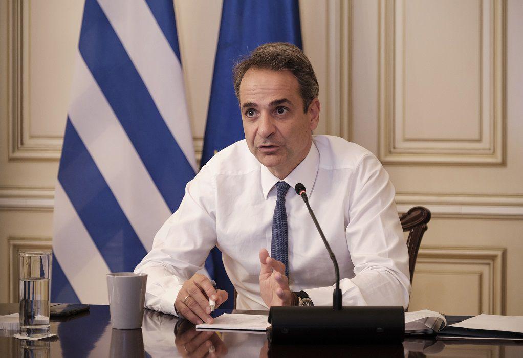 Μητσοτάκης: Θετικό βήμα οι διερευνητικές επαφές Ελλάδας-Τουρκίας