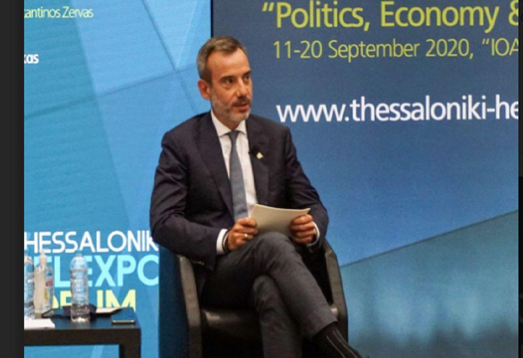 Ζέρβας: Να γίνει η Θεσσαλονίκη ο δεύτερος αστικός αναπτυξιακός πόλος της χώρας