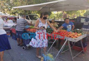 Θεσ/νικη: Πρόστιμα σε λαϊκή αγορά – Έντονες αντιδράσεις (VIDEO)
