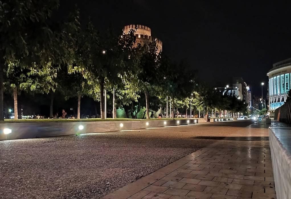 Δήμος Θεσσαλονίκης: Νέος φωτισμός στην «καρδιά» της πόλης