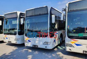 ΟΑΣΘ: Τα πρώτα 42 μισθωμένα λεωφορεία βγαίνουν στους δρόμους