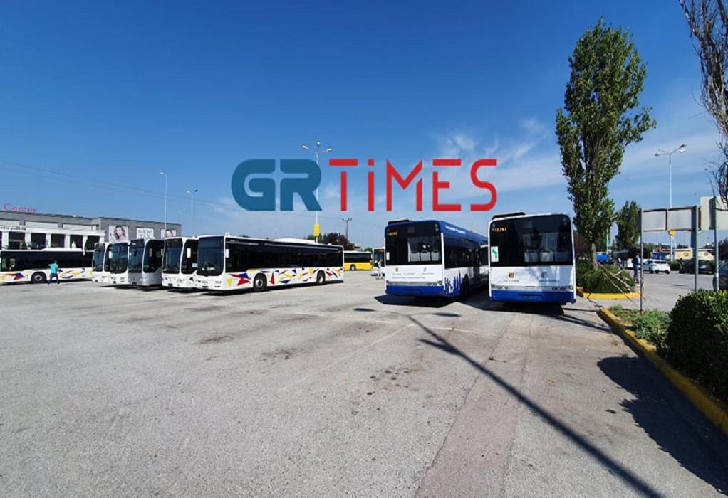 Θεσ/νίκη: Στο ανατολικό τέρμιναλ του ΟΑΣΘ τα πρώτα νέα λεωφορεία (ΦΩΤΟ)