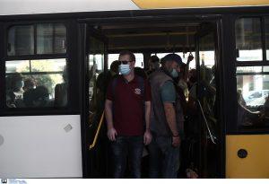 Επεισόδιο σε λεωφορείο του ΟΑΣΘ από αρνητή μάσκας