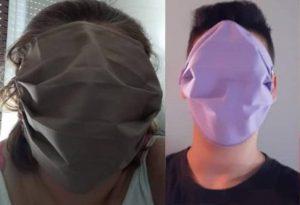 Οι XXL μάσκες σχολιάστηκαν και στο Russia Today