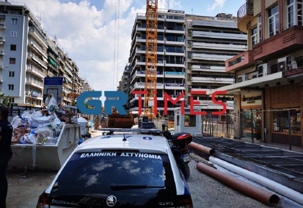 Νεκρός 54χρονος εργάτης στο Μετρό Θεσσαλονίκης (ΦΩΤΟ-VIDEO)