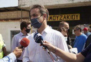 Μητοτάκης: Αποζημιώσεις εξπρές για τους πληγέντες (ΦΩΤΟ)