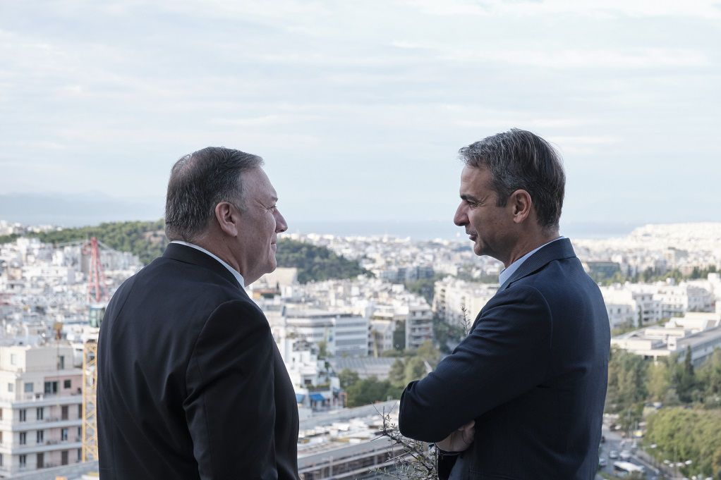 Στην Κρήτη η συνάντηση Μητσοτάκη-Πομπέο