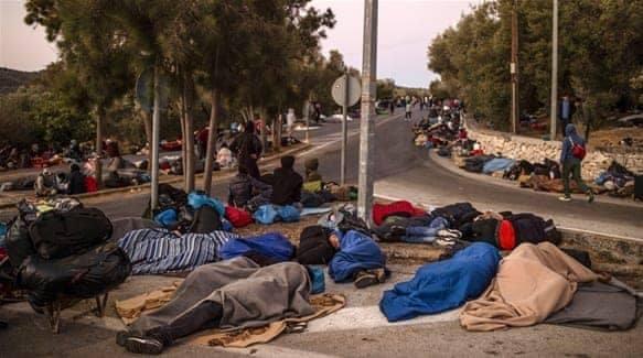 Αυστρία: Παράδοση ανθρωπιστικής βοήθειας για τη Λέσβο