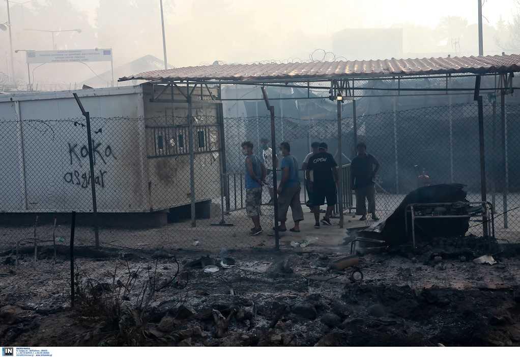 Στη Βόρεια Ελλάδα μετανάστες από τη Μόρια