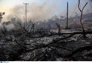 Λέσβος: Νέα φωτιά στη Μόρια