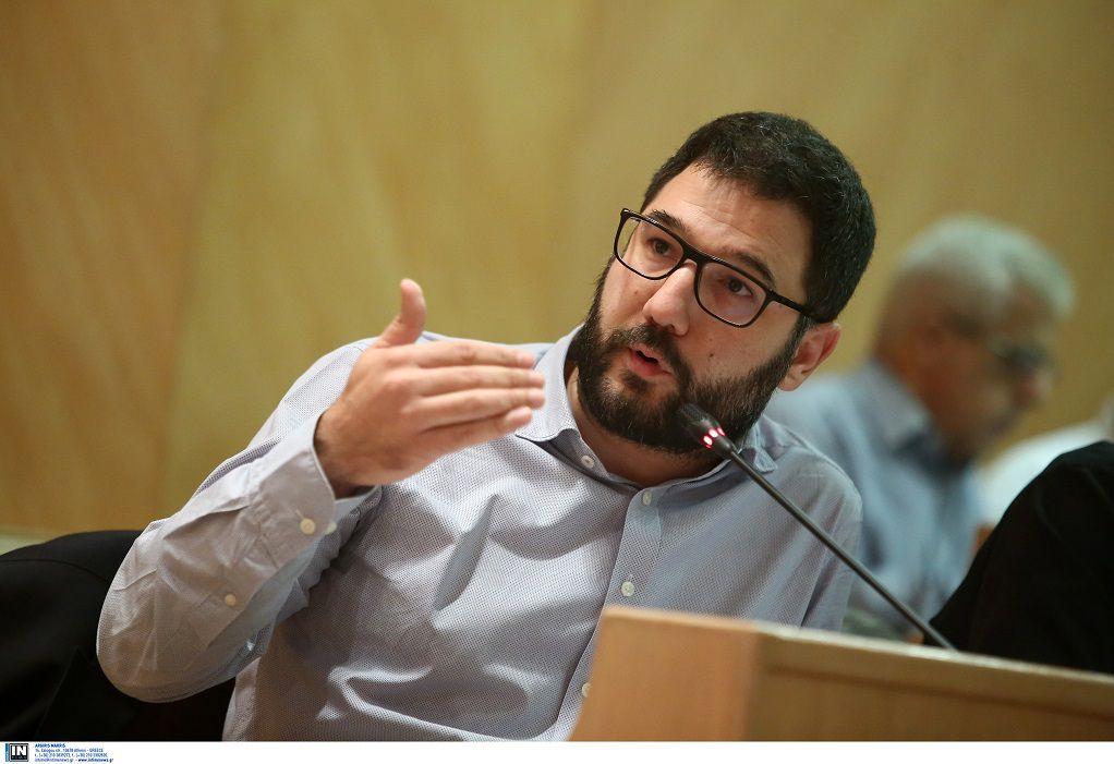 Ν. Ηλιόπουλος: Περιμένουμε από τον κ. Μητσοτάκη να αποδοκιμάσει δημόσια τον κ. Καλλιάνο