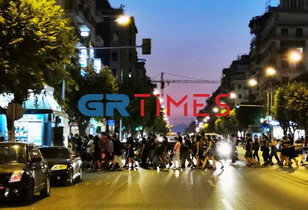 Θεσ/νικη: Πορεία αντιεξουσιαστών για τους μετανάστες στη Μόρια (ΦΩΤΟ-VIDEO)
