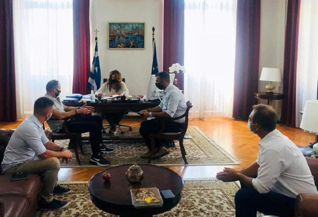 Θεσσαλονίκη: Συνάντηση Αντωνίου με κλιμάκιο της Ε.Υ.Π.Σ.Π. (ΦΩΤΟ)